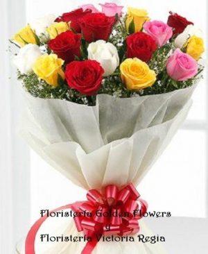 Bouquet X 20 Rosas surtidas 300x366 Tienda