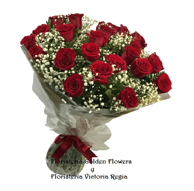 Bouquet X 24 Rosas