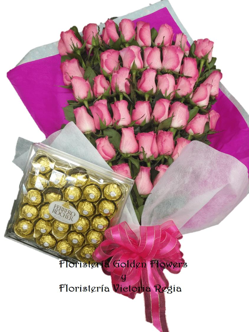Bouquet X 40 Rosas