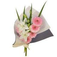 Bouquet en lirios y gerberas. 65.000 85.000 105.000 190x190 Tienda