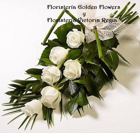 Bouquet en rosas y tejido de hojas. $ 60.000 $ 80.000 $ 100.000