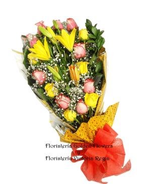 Bouquet rosas y lirios 300x366 Tienda