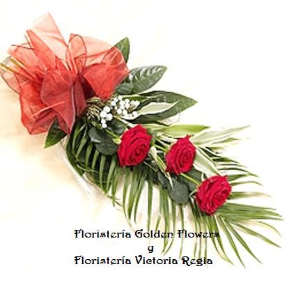Bouquet x 3 Rosas
