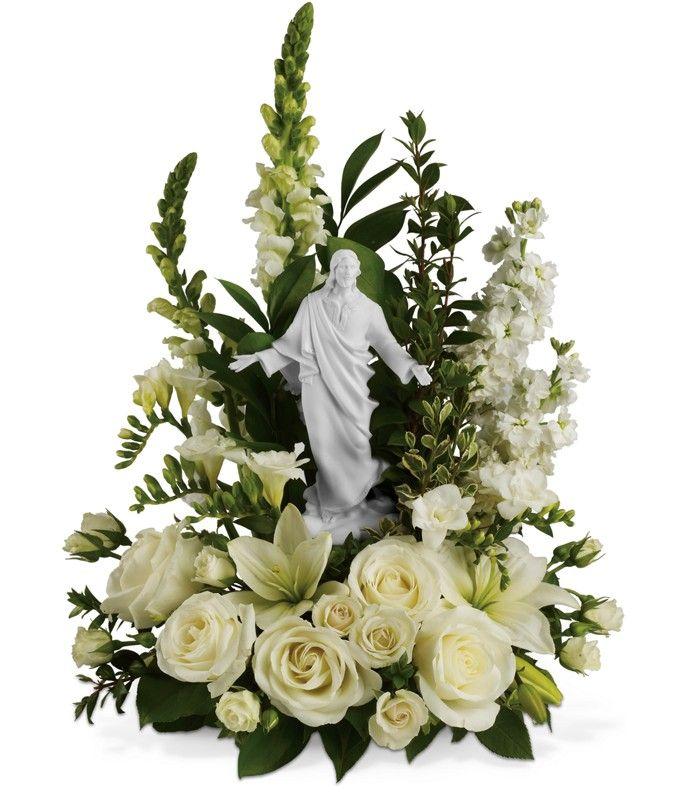 FU 10-3 Arreglo base de condolencias en rosas, boca de dragon y minirosas con imagen. $ 145.000 $ 185.000 $ 225.000