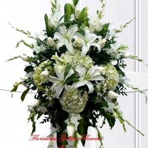 Pedestal Pequeño en rosas lirios Hortensias y Gladiolos 300x300 Tienda