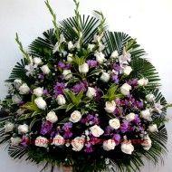 Pedestal rosas y orquideas 190x190 Tienda