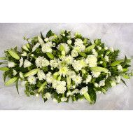 Ramo funebre tradicional en rosas lirios y micropompon. 80.000 100.000 120.000 190x190 Tienda