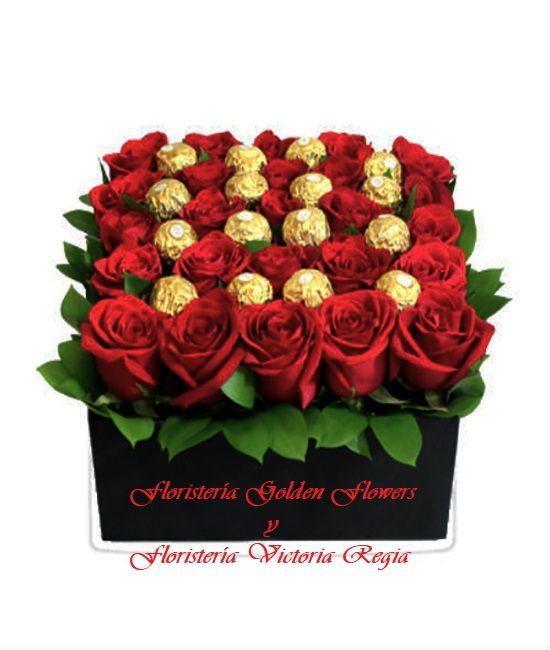 Rosas con Chocolates