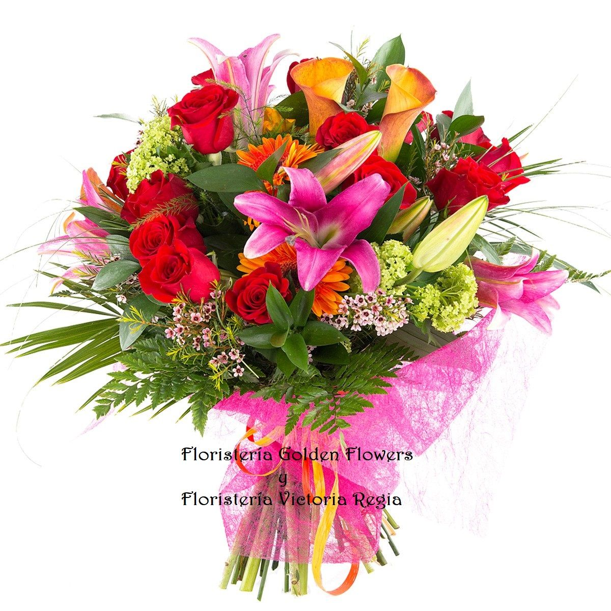 bouquet tropical B 12