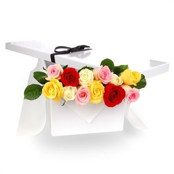 one-dozen-multicolored-roses-in-a-gift-box-254-2