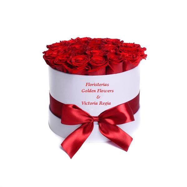 Caja Rosas CF 18