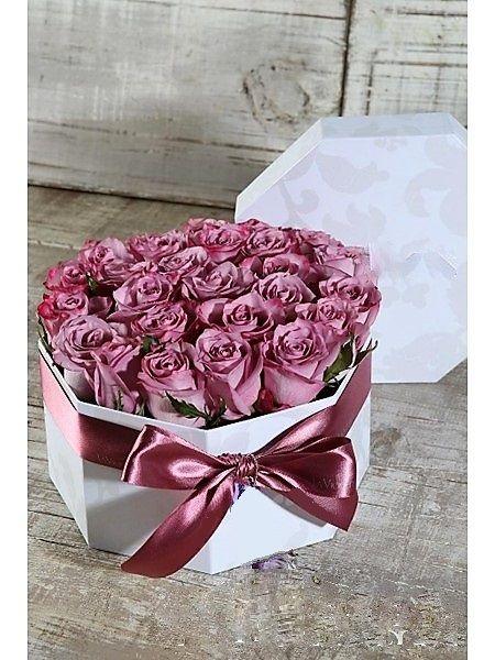 Caja en rosas CF 23-1